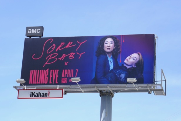 Killing Eve season 2 billboard
