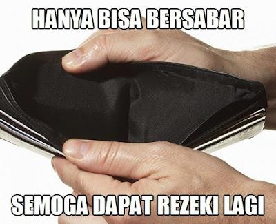 Meme Lucu Lagi Bokek Tidak Punya Uang