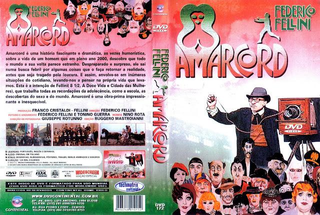 Capa DVD Amarcord