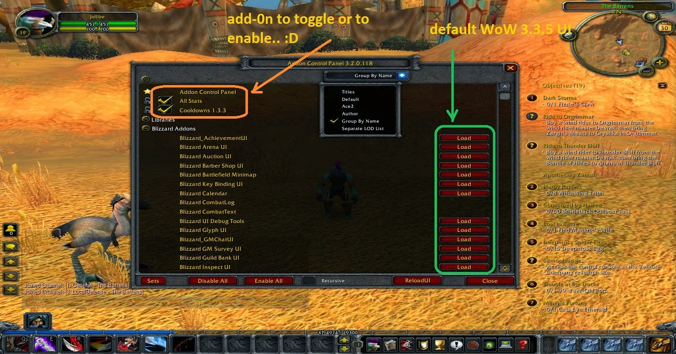 ACP - Addon Control Panel - WOTLK 3 3 5 & Cataclysm 4 3 4 Review
