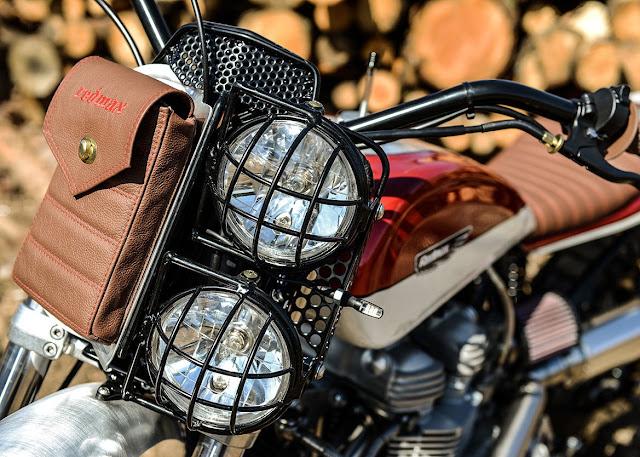 Triumph Scrambler By Redmax Speedshop Hell Kustom