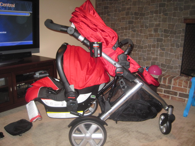 Britax B Ready Double Stroller Review, Britax Lower Infant Car Seat Adapter