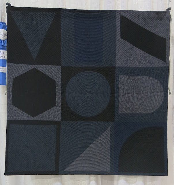 Quiltcon 2017 - Dark Geometry by Susan MCKinney
