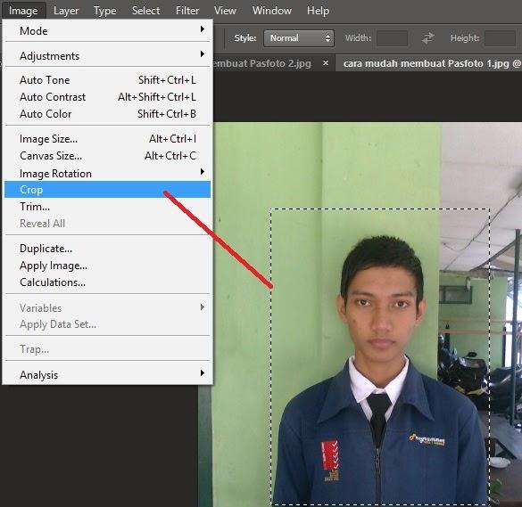 Cara mudah membuat PAS FOTO dengan Adobe Photoshop   IT-Jurnal.com