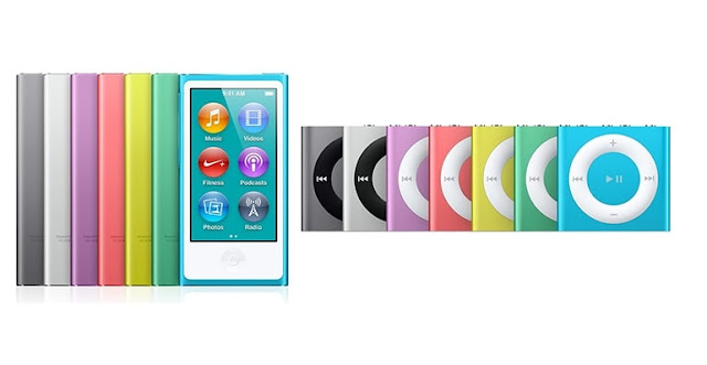 The most popular iPods, nano and shuffle has been discontinued by Apple.