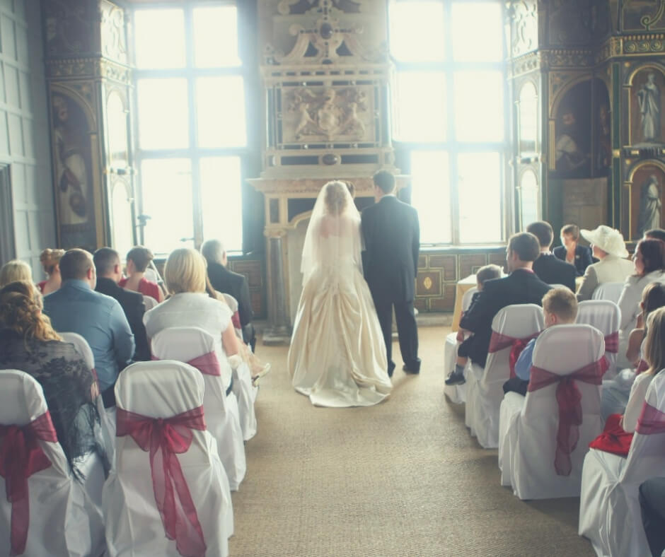 Day Trips To Take In The UK During Easter Holidays | The sun shone in through the windows as we said our vows.