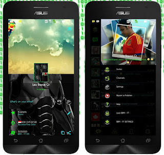 BBM MOD BBM-FT aka Full Tansparent v4 based on BBM Original v2.12.0.9 APK Terbaru