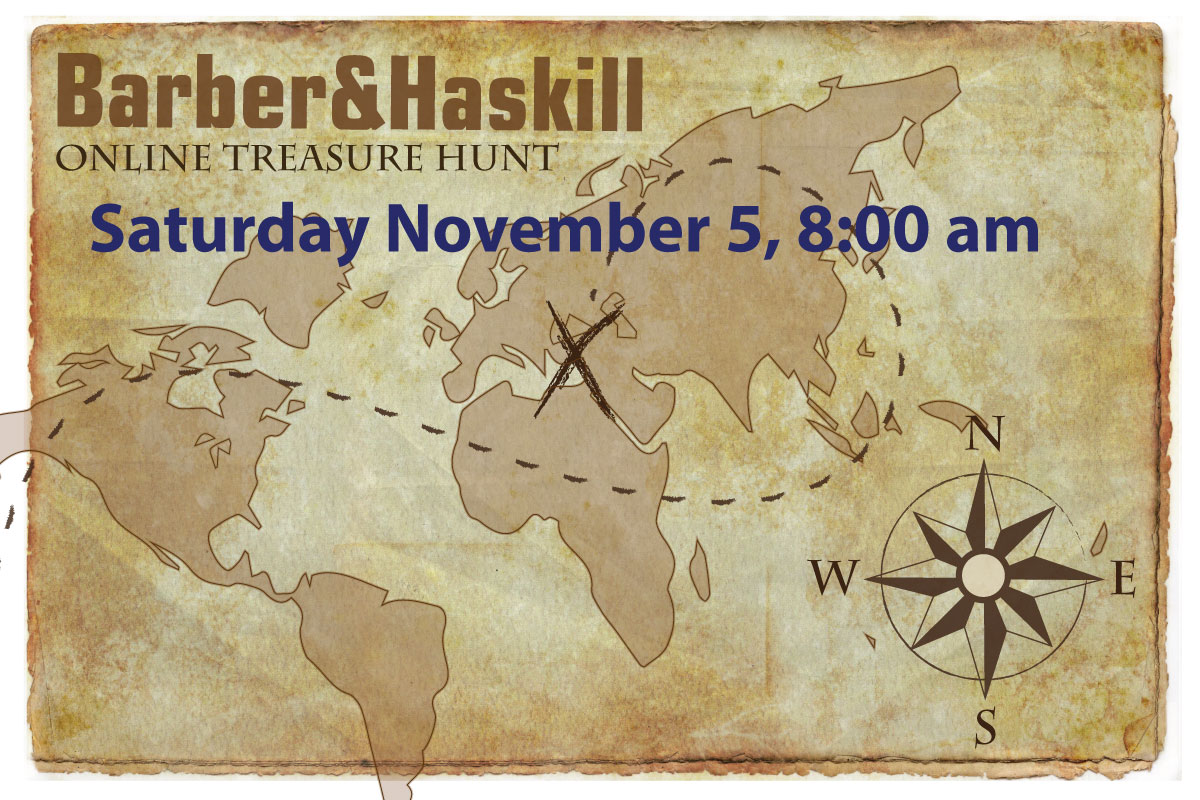 second annual barber and haskill online treasure hunt