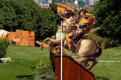 fotomontaggi-Rio 2016- Napoleone Bonaparte e il dressage