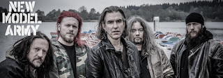 Photo des membres du groupe New Model Army