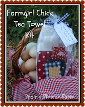 Farmgirl Chick Tea Towel Kit
