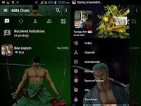 BBM MOD Roronoa Zoro v3.2.5.12 Apk Terbaru Gratis for Android