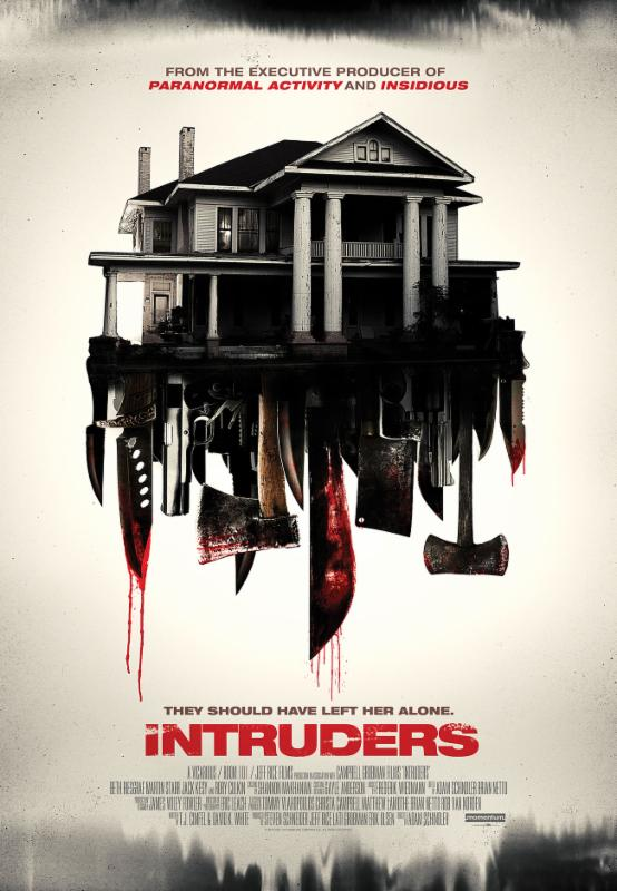 Baixar capa Intruders HDRip XviD & RMVB Legendado Download