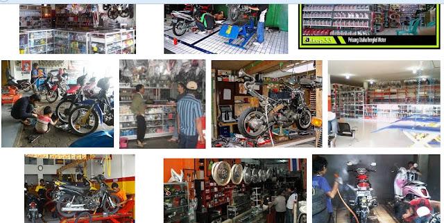 cara berbisnis buka usaha bengkel motor agar cepat maju dan berkembang