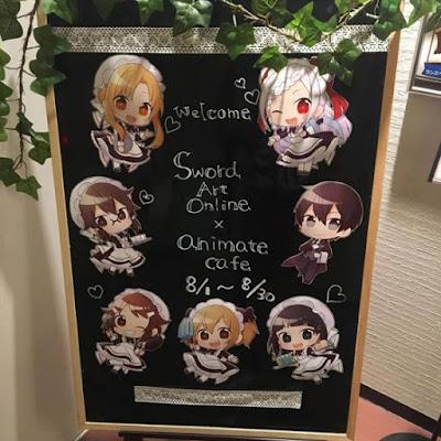 Anime Hot Spot - Sword Art Online:OS Café di Café Animate Ikebukuro