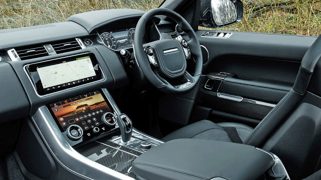 Range Rover Sport SVR interior