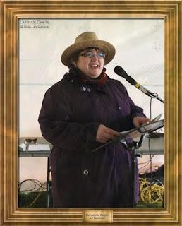 Regina writer Bernadette Wagner, at the Cathedral Village Arts Festival 2011