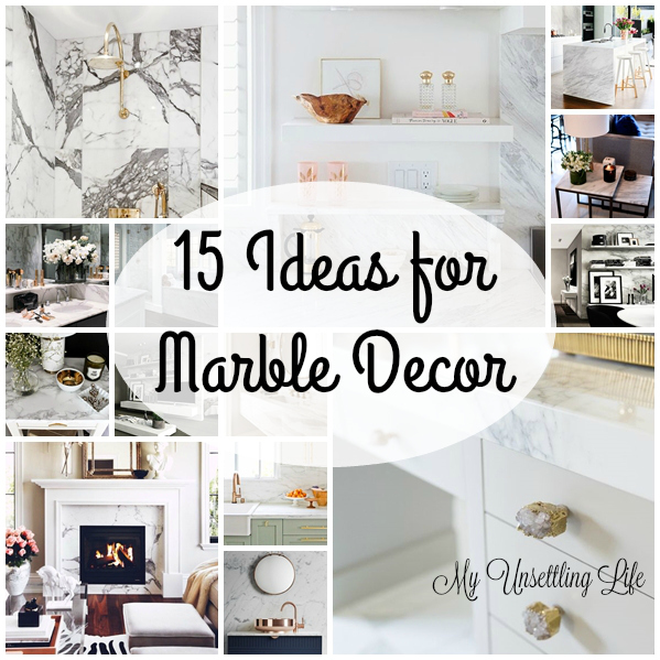 15 Ideas For Marble Decor