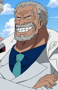 anime with strong old man
