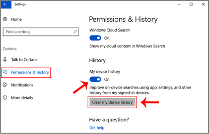 Windows 10 Computer me device history clear kaise kare