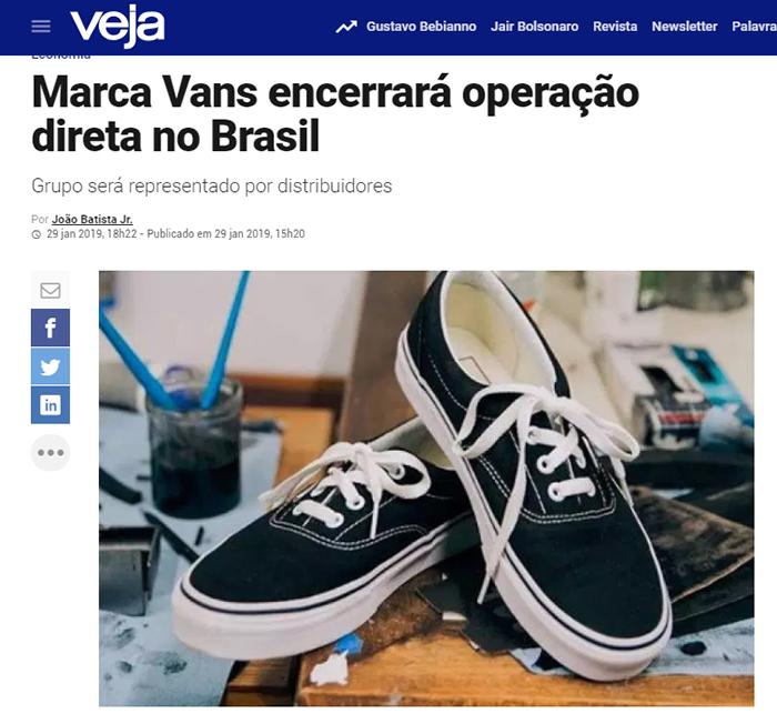 9dfae760b0f Macho Moda - Blog de Moda Masculina  A VANS vai deixar o BRASIL ...