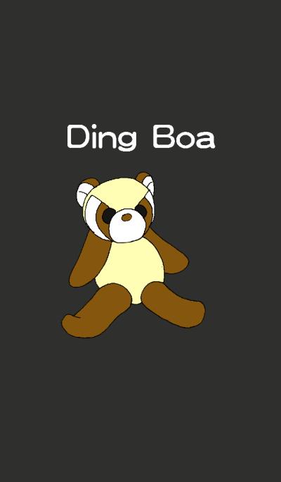 Ding Boa-Raccoo-black