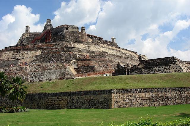 El Castillo de San Felipe en Cartagena de Indias