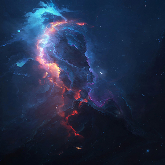Atlantis Nebula Wallpaper Engine