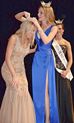 Taryn Chute was crowned Miss Montana 2011 on June 18