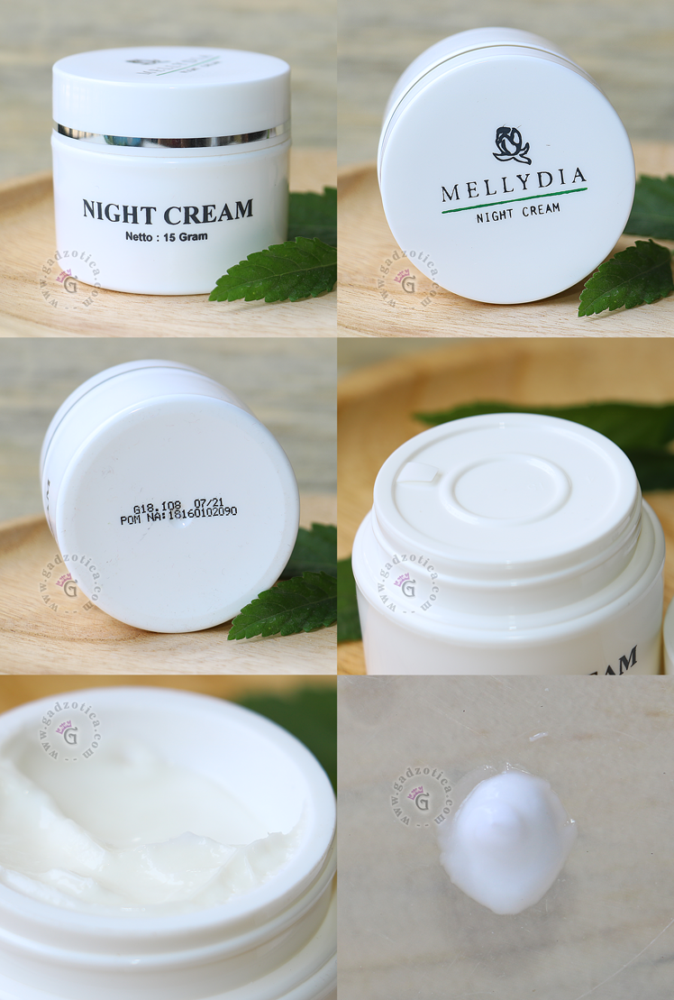 Review Mellydia Night Cream