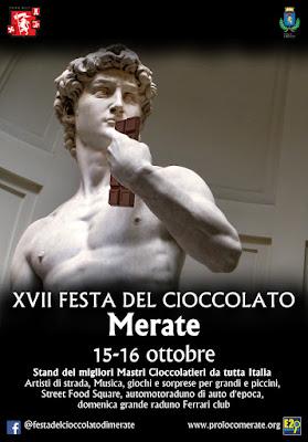 Festa del cioccolato 15-16 ottobre Merate (LC) 2016