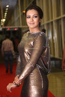 Actress Catherine Tresa in Golden Skin Tight Backless Gown at Gautam Nanda music launchi ~ Exclusive Celebrities Galleries 053.JPG
