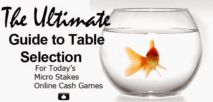 Selección de mesas en los juegos de efectivo de micro apuestas en línea de hoy