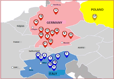 zonas industriales de Europa