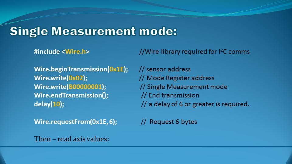 Arduino Basics: HMC5883L on the GY-80 module