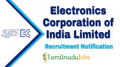 ECIL Recruitment notification 2019, govt jobs for diploma, govt jobs for graduates