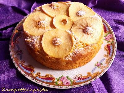 Torta con mele e ricotta senza burro e senza olio - Dolce con le mele senza burro