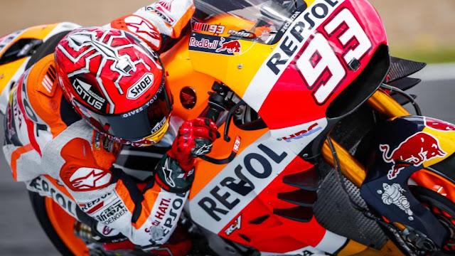 berita motogp : Marquez : Sayap membuat akselerasi lebih baik