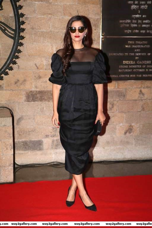 Sonam Kapoor was among the celebrities at Aamir Khans conversation with Sir Ian McKellen