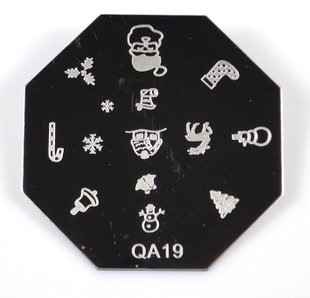 Snowflakes are from a stamping plate called QA19