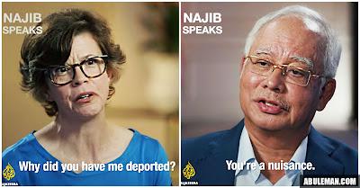 Image result for najib razak al jazeera