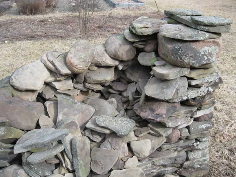 Another Practice In Skilled Wall Building Is To Place The Larger Heavier  Stones At The Top Of The Wall. It Is More Work To Lift Big Stones Rather  Than ...