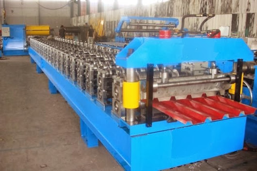 2014 popular sales roof panel roll forming machine