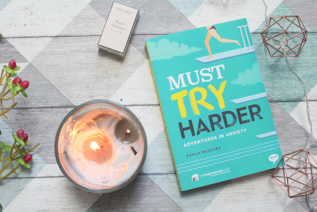 New in from Trigger Publishing: 'Must Try Harder: Adventures in Anxiety'