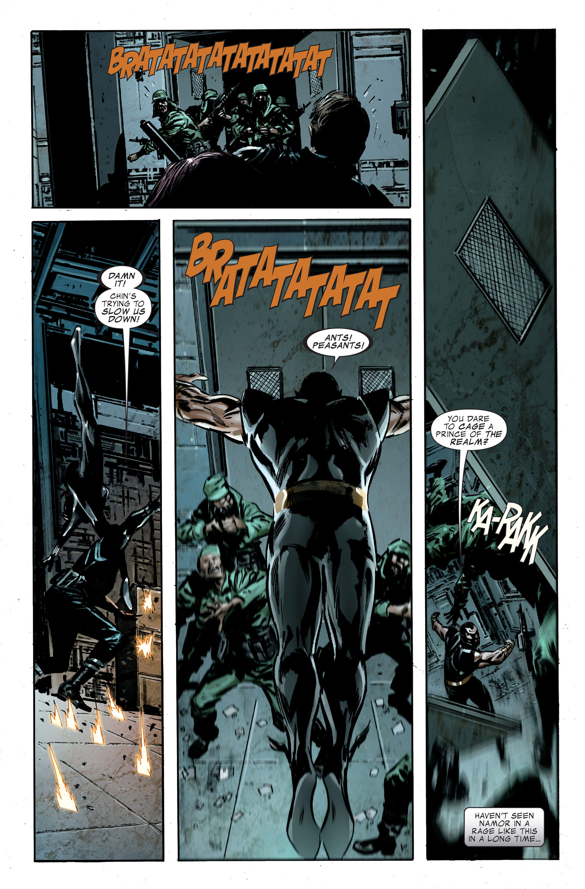 Read online Captain America (2005) comic -  Issue #48 - 11