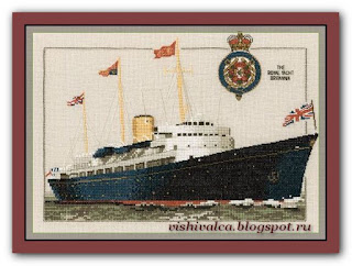 "Heritage Crafts Серия: Ships ""CRB400 The Royal Yacht Britannia"""