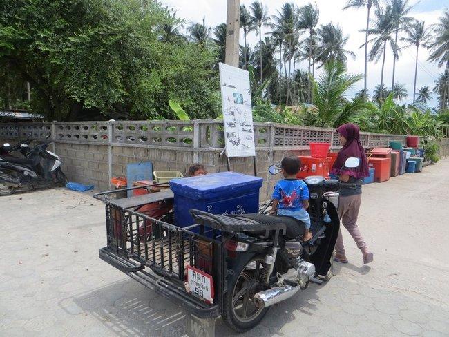 обычное транспортное средство в Таиланде