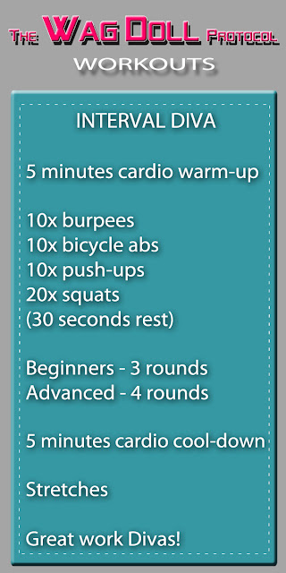 interval diva workout