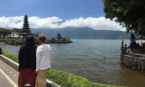 Danau Beratan (Bratan), Bedugul Tabanan Bali Indonesia