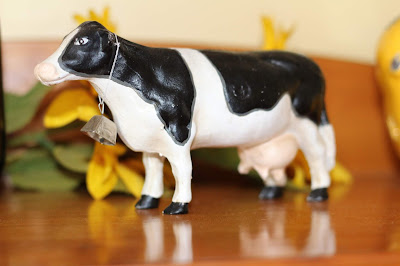 Country Cow Given to me from a dear friend... Living From Glory To Glory...